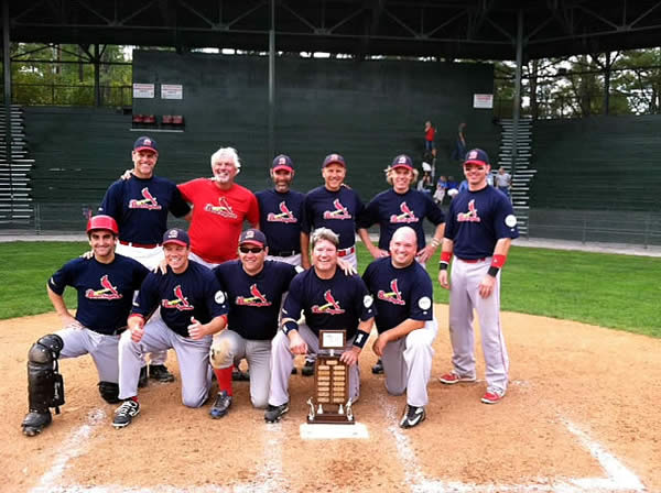 Burlington Cardinals team picture