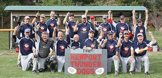 Newport Thunderdogs team picture